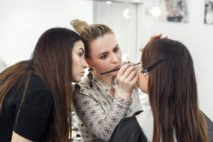 pro on-site makeup application